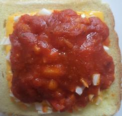야채토마토토스트