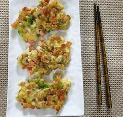 ♥[신혼밥상] 야채 듬뿍 햄맛살전