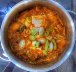 한국인의 소울푸드 돼지고기 김치찌개♡