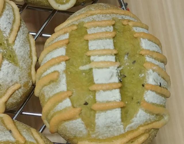 녹차크림치즈빵