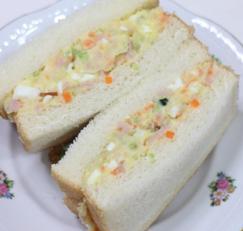 집콕 간식-감자샐러드 샌드위치로 만들기