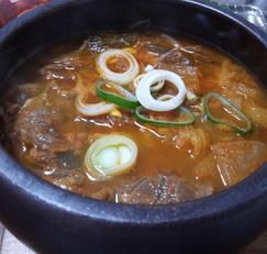 수입산 저가 냉동사태로 국밥만들기~ 완전 깔끔한 소고기국밥!!
