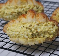 [한끼를 맛있게] 크루아상 계란 샌드위치 / 남은 빵 처리하기