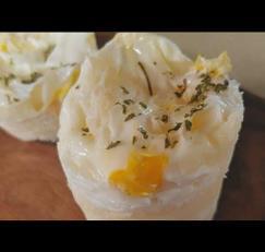 전자레인지 3분 핫케이크가루로 만드는 계란빵