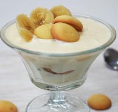 [노오븐] 바나나 푸딩 만들기