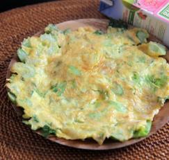 샐러리 요리 / 샐러리 계란전