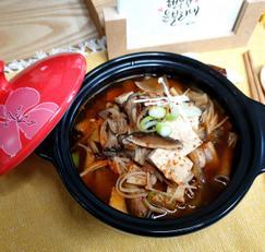 ♥[최애 반찬] 버섯된장찌개