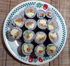 미니김밥 # 야채김밥