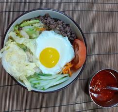 비빔밥 # 다짐고기 양념 #