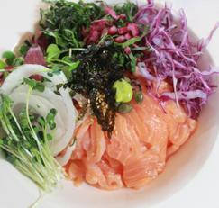 오메가 3 연어 덮밥 한그릇 요리