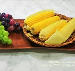 초당옥수수 맛있게 찌는법과 보관법