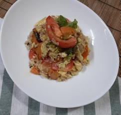 토마토 당근 볶음밥 # 한그릇요리