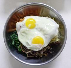 나물비빔밥 양푼비빔밥 건강한 한끼