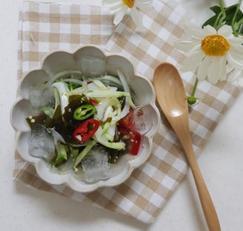 오이미역냉국 여름에 쉬원하게 먹기좋은 냉국만들기
