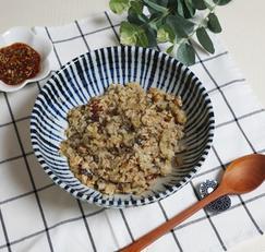간단한 저녁메뉴, 백종원 가지밥 만들기 (feat.양념장) 한그릇요리