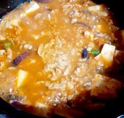 청국장 찌개 끓이기