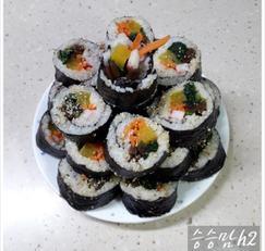 기본 김밥~우엉김밥 맛있게 싸는 법