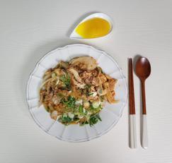 남은치킨요리, 치킨덮밥 만들기 :) 쯔유활용요리