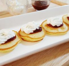 [미니 핫케이크 만드는 법]크리스마스&연말 홈파티 핑거푸드~!!
