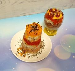 컵밥 탑밥 핑거푸드 (아이와 함께 밥으로 탑쌓고 부셔먹어요)