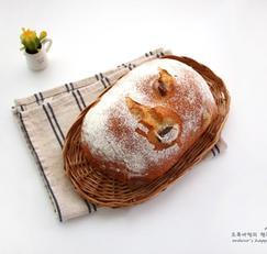 무반죽 올리브 허브빵