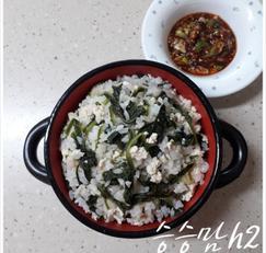 취나물볶음 만들어서 취나물두부밥 & 취나물꼬마김밥 만드는 법