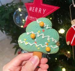 [크리스마스 쿠키] 에어프라이어로 만든 트리쿠키