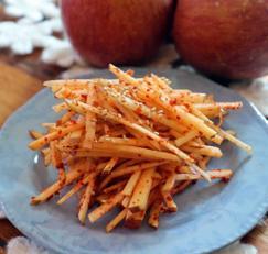 사과를 활용한 요리 / 사과 겉절이