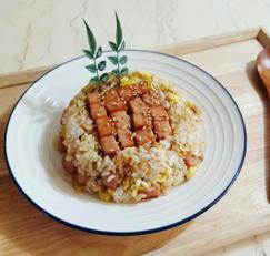 [스팸볶음밥 만드는 법]주말 혼밥 브런치 쉬운요리 원팬요리 한그릇요리~!!