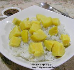 호박고구마밥