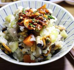가을 제철음식 만남의 광장 홍합밥 만드는 법