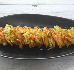 간단한 저녁 메뉴 팽이버섯맛살전 만드는 법 가성비 최고.