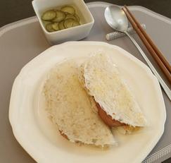찬밥의 새로운 변신, 밥 샌드위치 - 찬밥 처리, 찬밥 요리