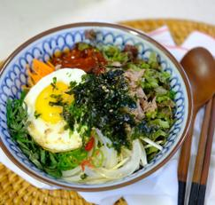 참치야채비빔밥