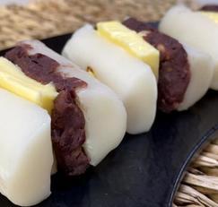 쫄깃한 쌀떡 사이로 '버터+팥앙금' 꿀조합 듬뿍 들어간 앙버떡 만들기!