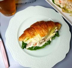 ♥[신혼간식] 크래미 크루아상 샌드위치