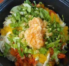 냉동날치알로 알밥 만드는 법(4인분)