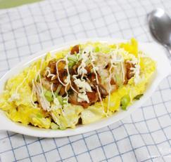 치킨마요덮밥 만드는법 남은치킨요리 초스피드요리