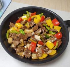 연말 홈파티 요리 맛있는 찹스테이크 만드는 법