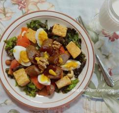 토마토두부샐러드:진짜 배부른 다이어트샐러드