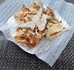 황태껍질 튀각 중독성 강한 간식