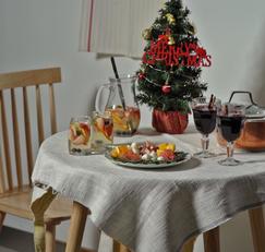 따뜻한 와인 뱅쇼 그리고 상그리아와 어울리는 크리스마스 과일리스 ♥