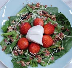 보들보들 너무 맛있는 부라타치즈 샐러드로 더 맛있게 먹기! 초간단레시피공개