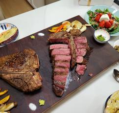 울프강 못지않은 솜프강 스테이크하우스~ 티본스테이크 집에서 제대로 구워먹기! 비주얼도 맛도 끝판왕?