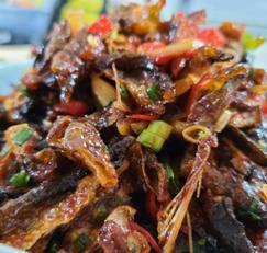북어껍질 [명태껍질]튀김, 피부와 탈모예방의 끝판왕, 콜라겐 덩어리 북어껍질 요리~