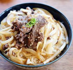 소고기 요리 / 소고기 덮밥