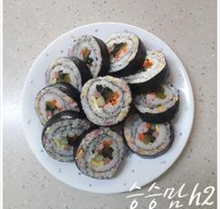 더블링 김밥 맛있게 싸는 법