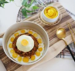 혼밥메뉴로 좋은 스팸김치볶음밥 만드는법, 메추리알이 포인트!