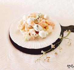 메추리알 과일샐러드 만드는법 냉파요리 과일사라다