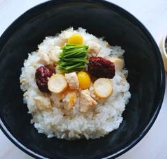 삼계탕 아니 아니~삼계밥입니다! :)